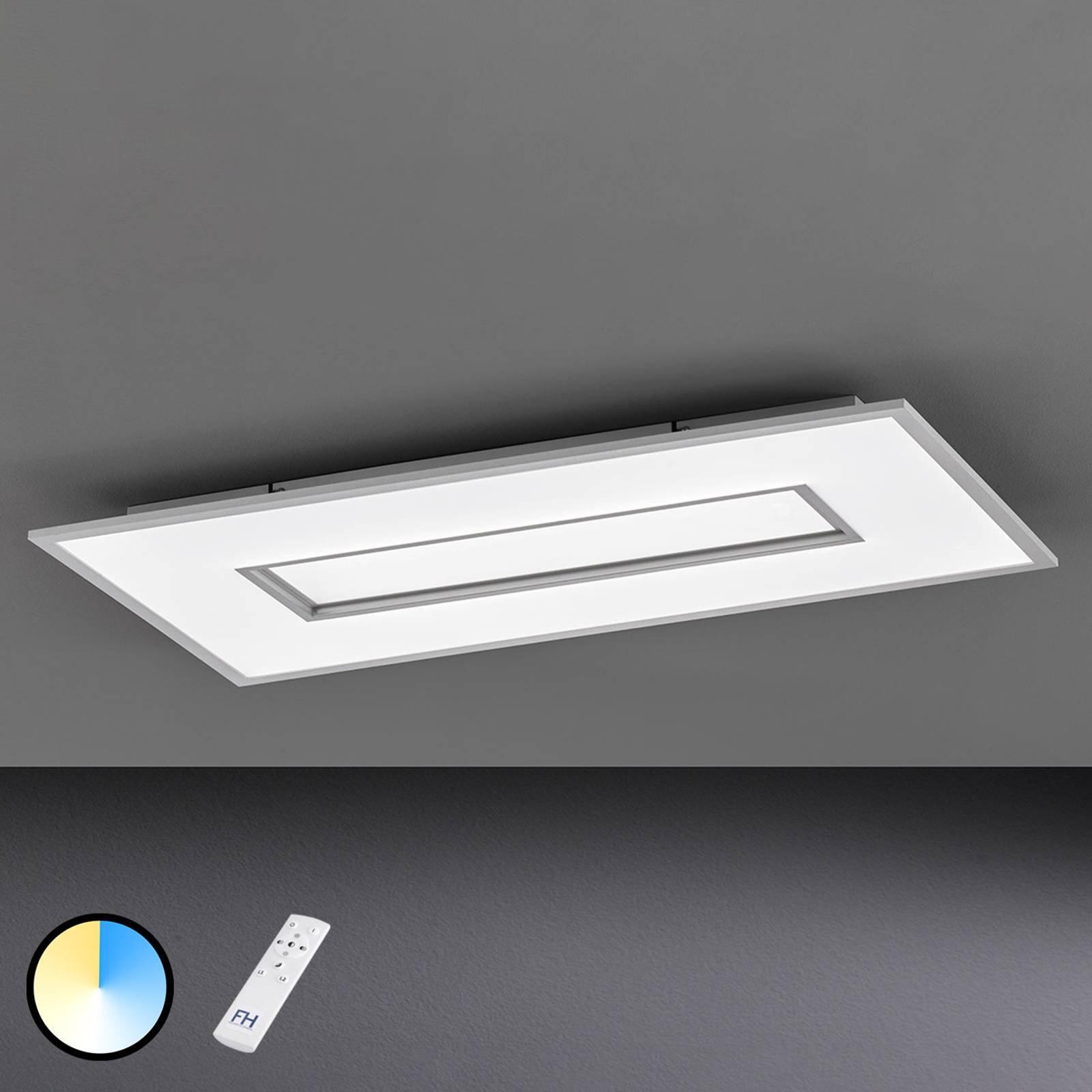 LED-taklampe Tiara, rektangel, 96x50 cm