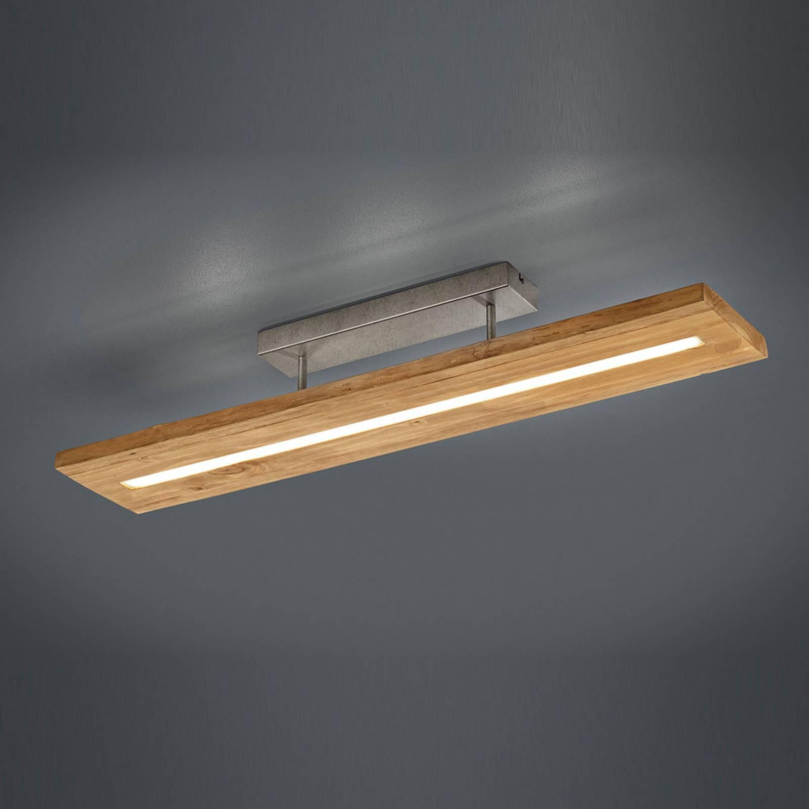 LED-kattovalaisin Brad puusta