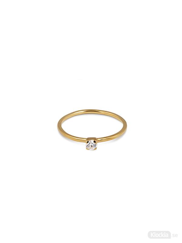 Syster P Ring Tiny Princess - Guld RG1115
