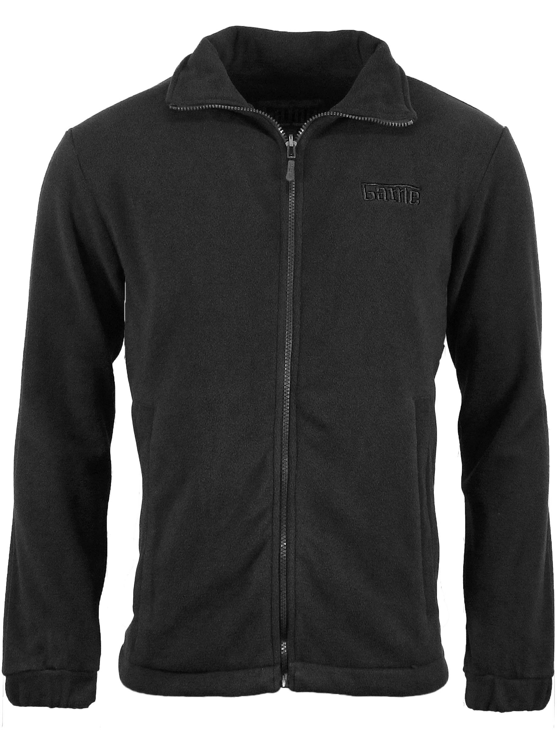 Game Technical Apparel Unisex Jacket Various Colours Stealth Fleece - Black 2XL