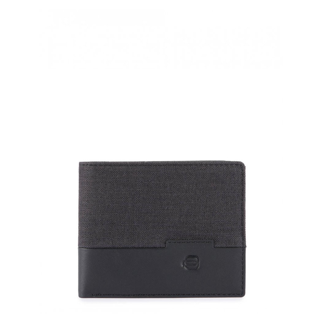 Piquadro Men's Wallet Black PU3891W98 - black NOSIZE