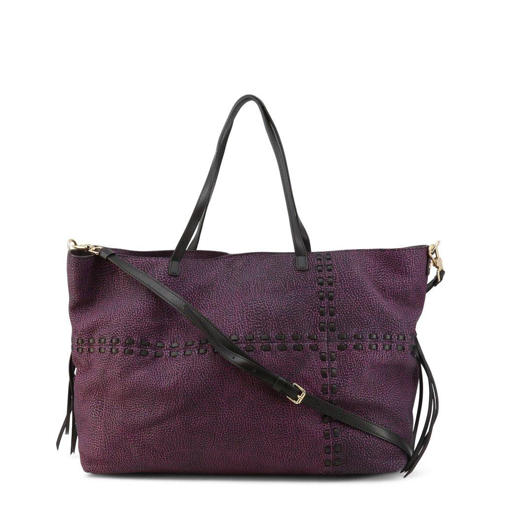 Borbonese Women's Shopping Bag Violet 954329-648 - violet NOSIZE