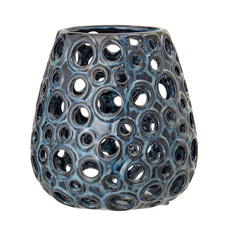 Votive, Blue, Stoneware