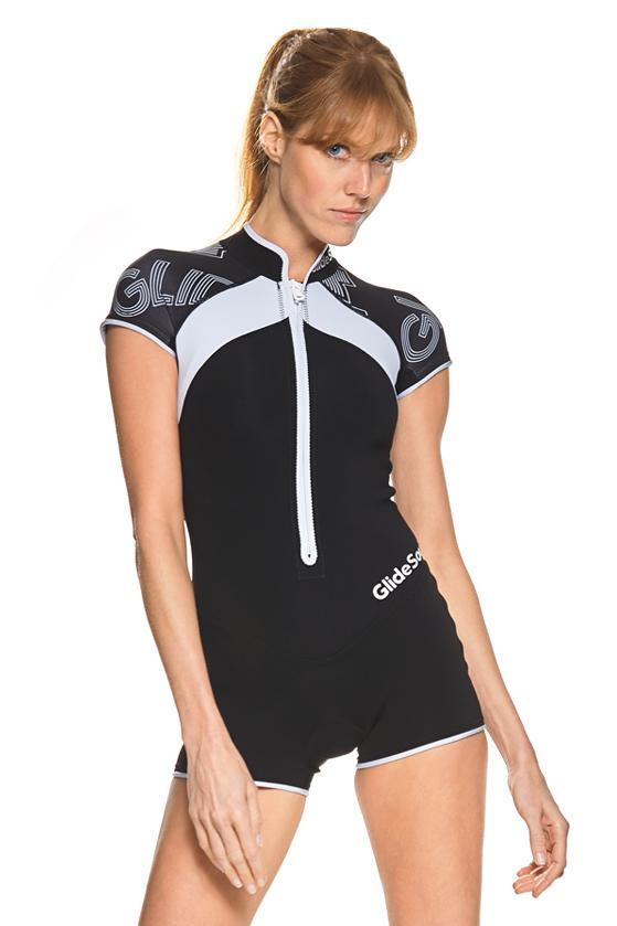 Essential 1 MM Short Sleeve Front Zip Springsuit / XXS