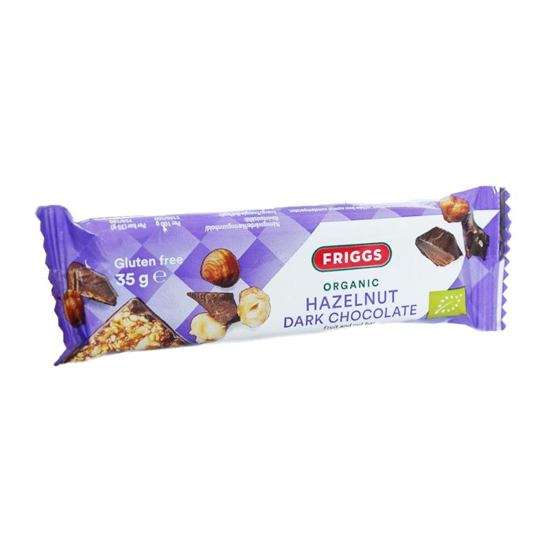 Hedelmä- ja pähkinäpatukka Tumma Suklaa 35 g - 75% alennus