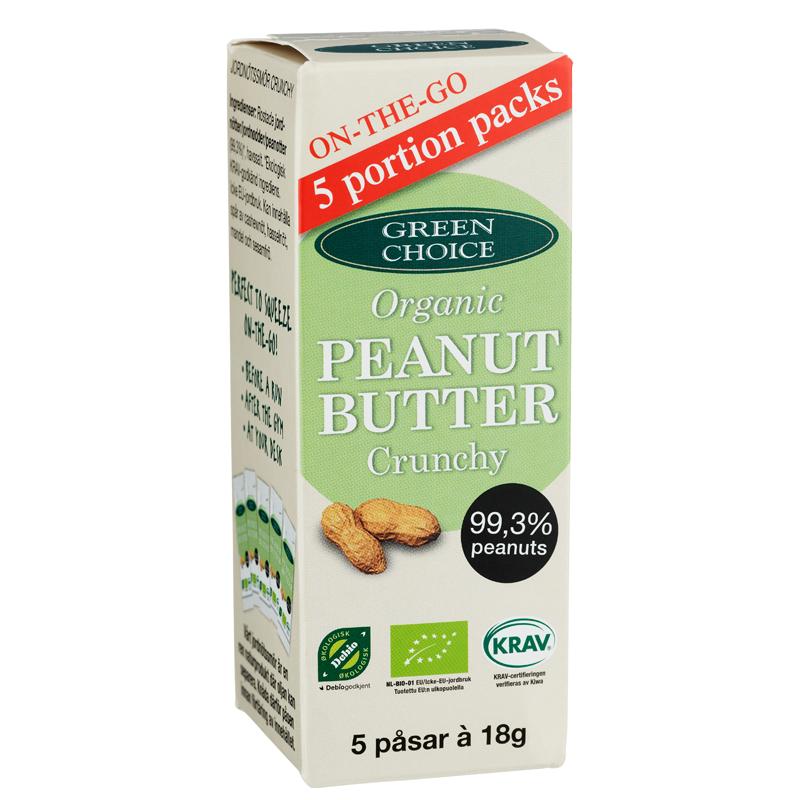 Eko Jordnötssmör Crunchy - 37% rabatt
