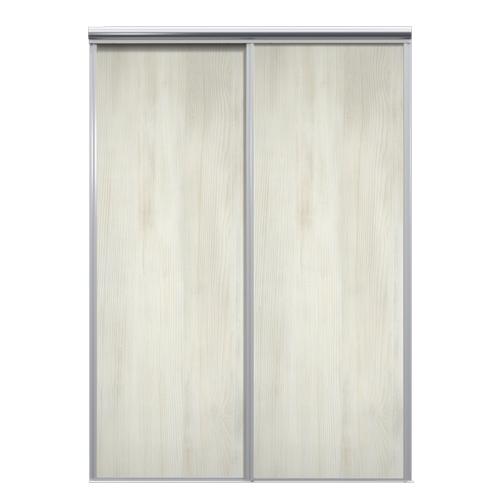 Mix Skyvedør White wood 1850 mm 2 dører