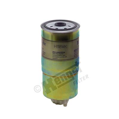 Polttoainesuodatin HENGST FILTER H118WK