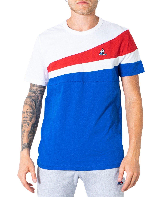 Le Coq Sportif Men's T-Shirt Various Colours 305040 - white-1 S