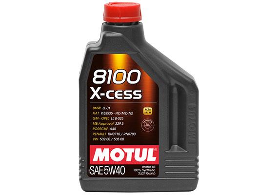 Moottoriöljy MOTUL 8100 X-CESS 5W40 2L
