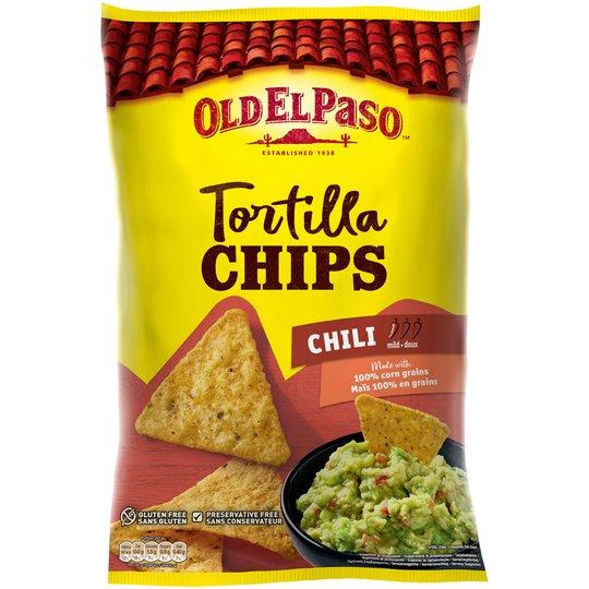 Tortillasipsit Chili - 21% alennus