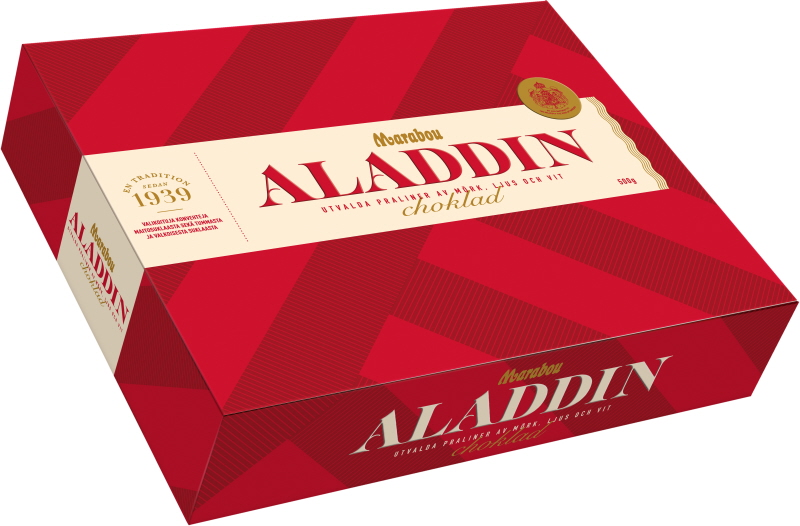 Chokladask Aladdin - 93% rabatt