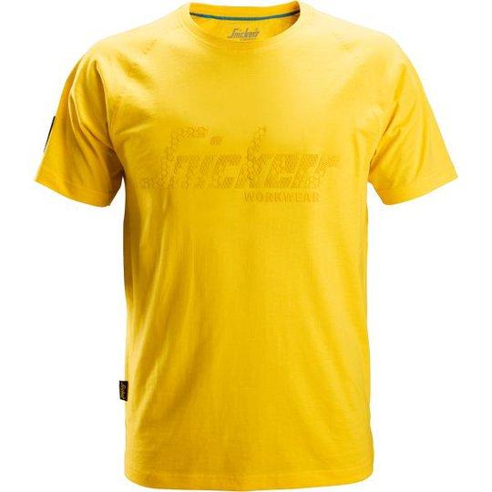 Snickers 2580 T-paita keltainen XS