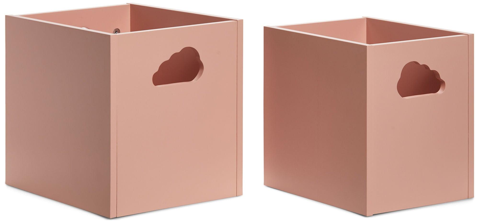 Alice & Fox Alicia Säilytyslaatikot, Vaaleanpunainen