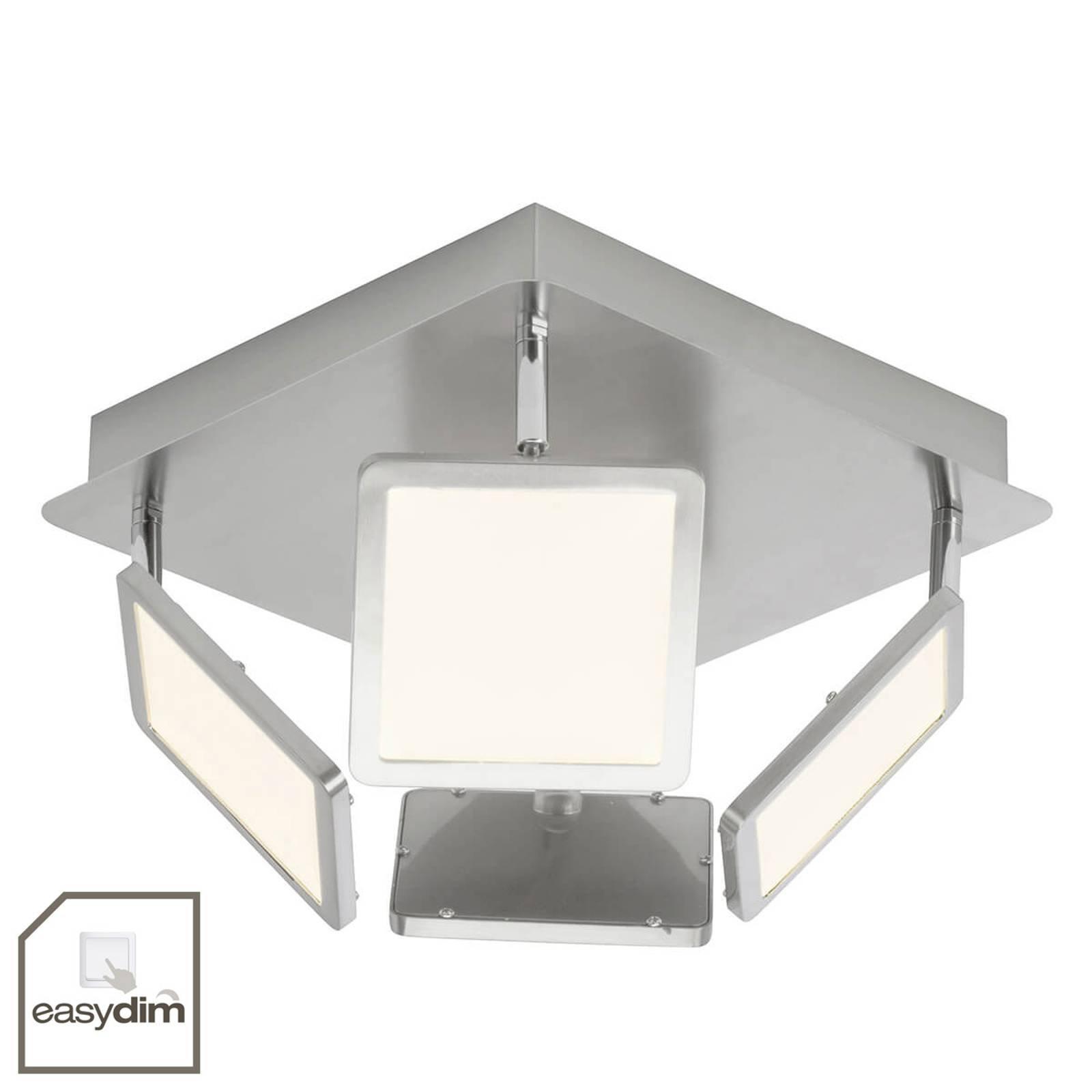 4 lyskilder LED kjøkkenlampe Uranus, easydim