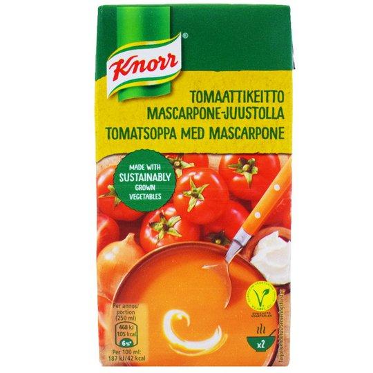 Tomaattikeitto Mascarpone-Juustolla 500ml - 25% alennus