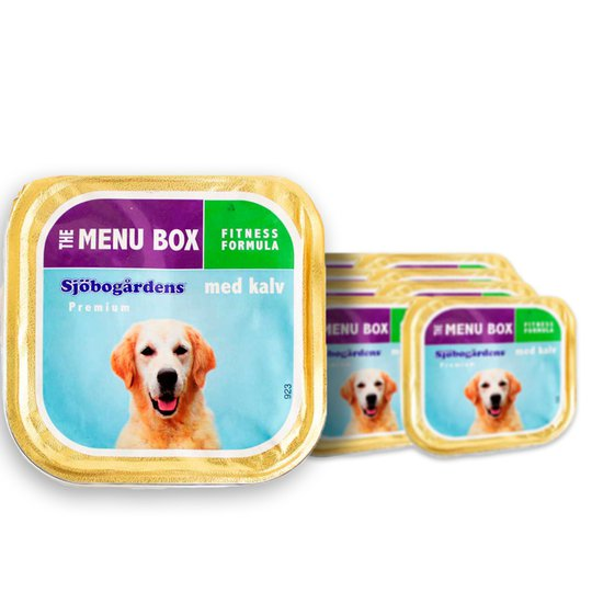 Fullfoder Hund Paté Kalv 24-pack - 57% rabatt