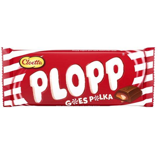"""Plopp Polka"" Suklaalevy 80g - 30% alennus"