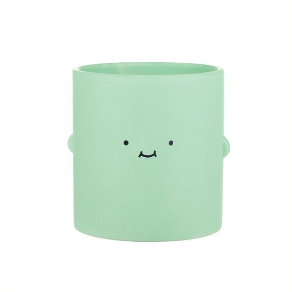 Green Big Smile Toki Plant Pot
