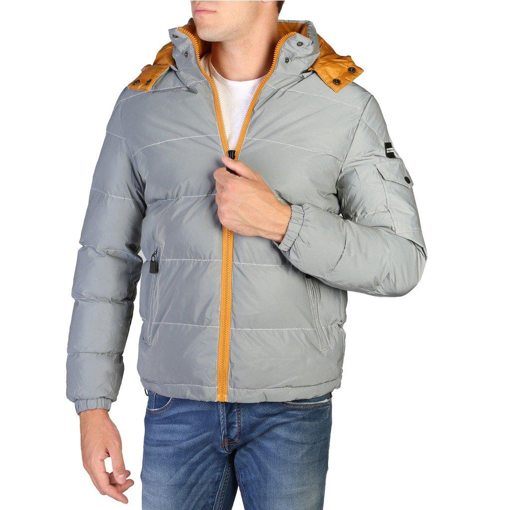 Alessandro Dell'Acqua Men's Jacket Grey 348293 - grey M
