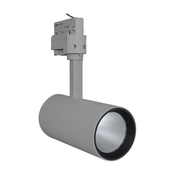 LEDVANCE Tracklight Spot Spotlight 25W, grå 3000K