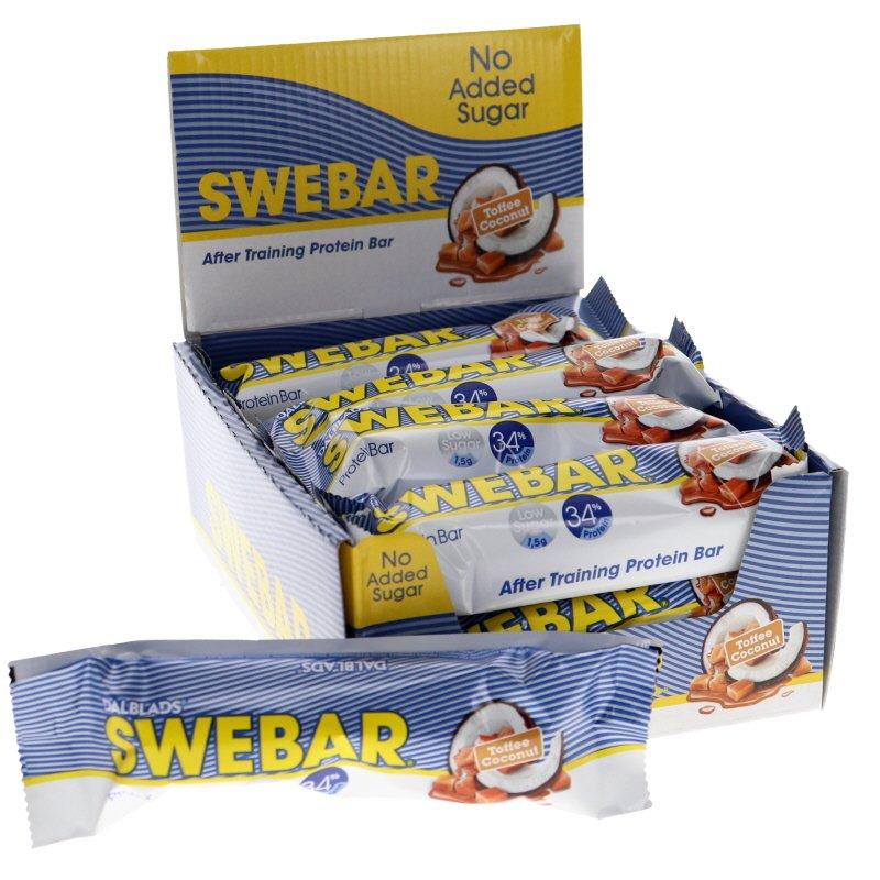 Proteinbar Toffee & Coconut 15-pack - 30% rabatt