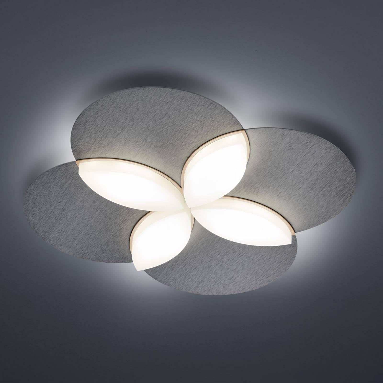 BANKAMP Spring -LED-kattovalo, matta-antrasiitti