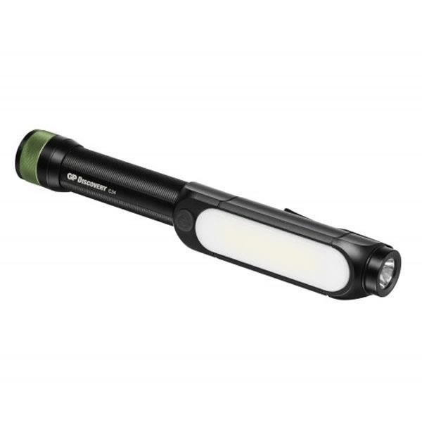 GP Lighting Discovery C34 Taskulamppu kaksi valonlähdettä