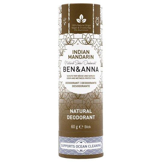 Ben & Anna Natural Soda Deo Stick Indian Mandarine, 60 g
