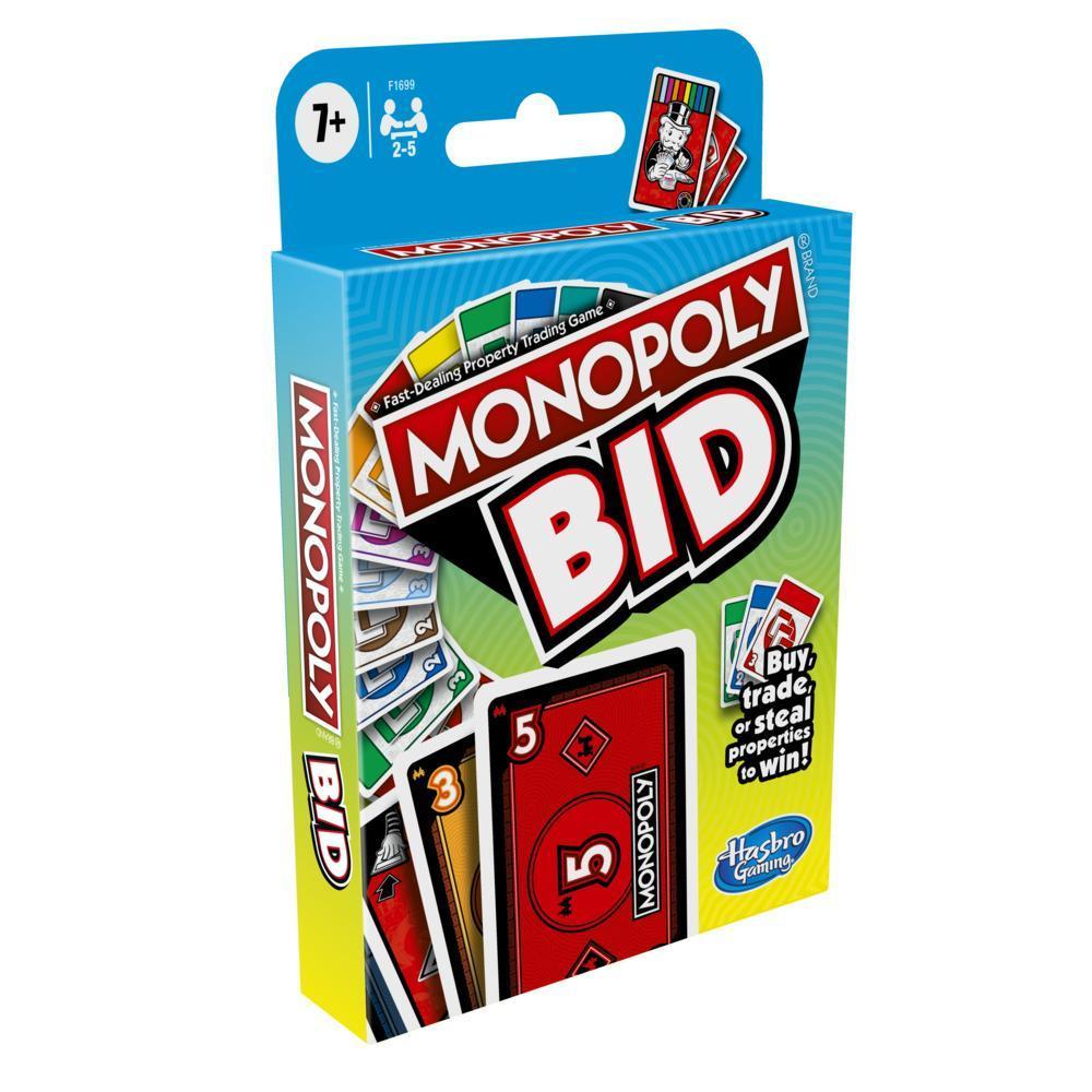 Hasbro Gaming - Monopoly Bid Game (DA/NO) (F1699)