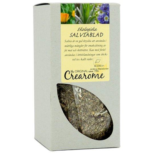 Crearome Ekologiska Salviablad (Kryddsalvia), 100 g