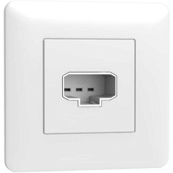 Schneider Electric Exxact WDE005013 Lampeuttak DCL, for veggmontering, innfelt