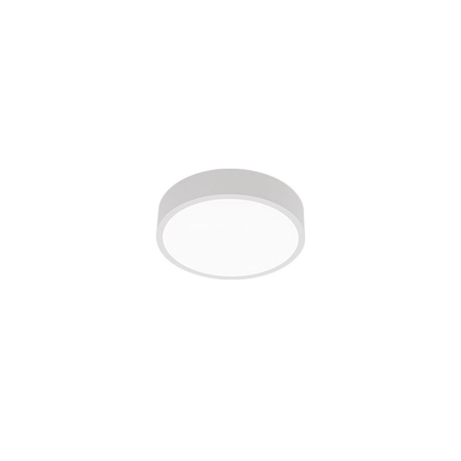LED-kattovalaisin C90-S, Ø 42 cm 3 000 K valkoinen