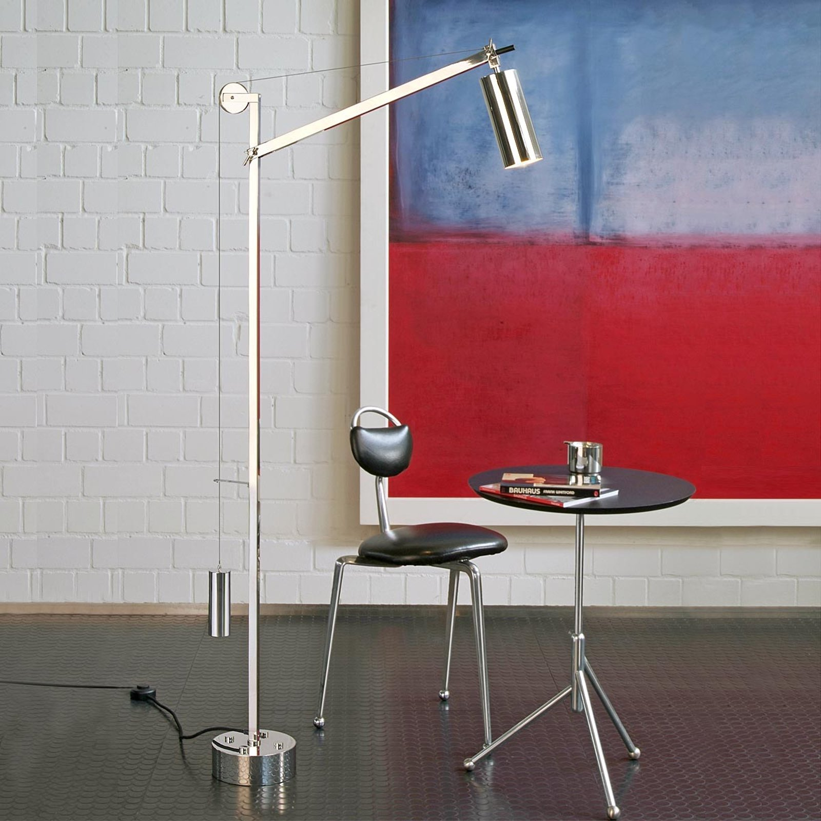 Tecnolumen – gulvlampe i Bauhaus-stil