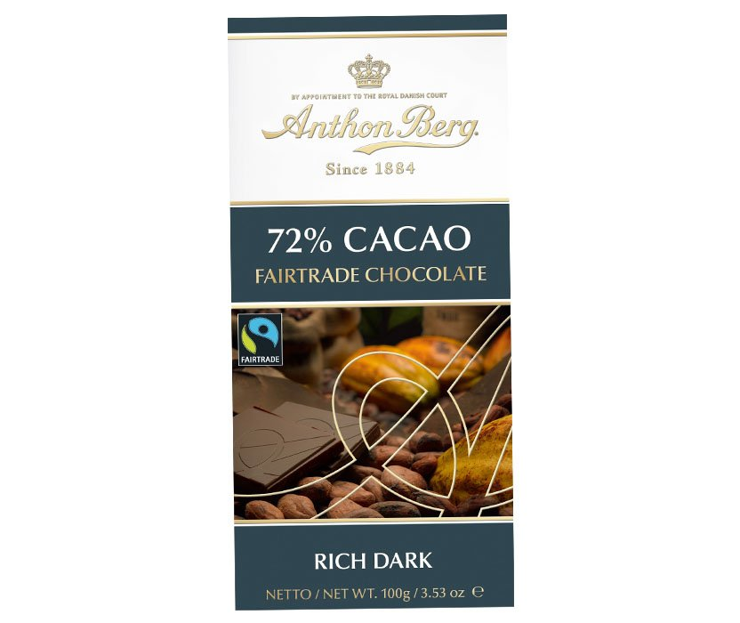 Tumma Suklaa Fairtrade 100g - 42% alennus