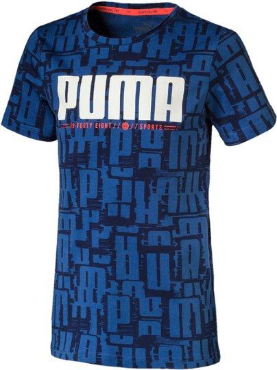 Puma Active Sports Aop T-Skjorte, Blue 104