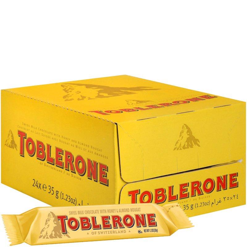 Toblerone Suklaapatukat 24kpl - 29% alennus
