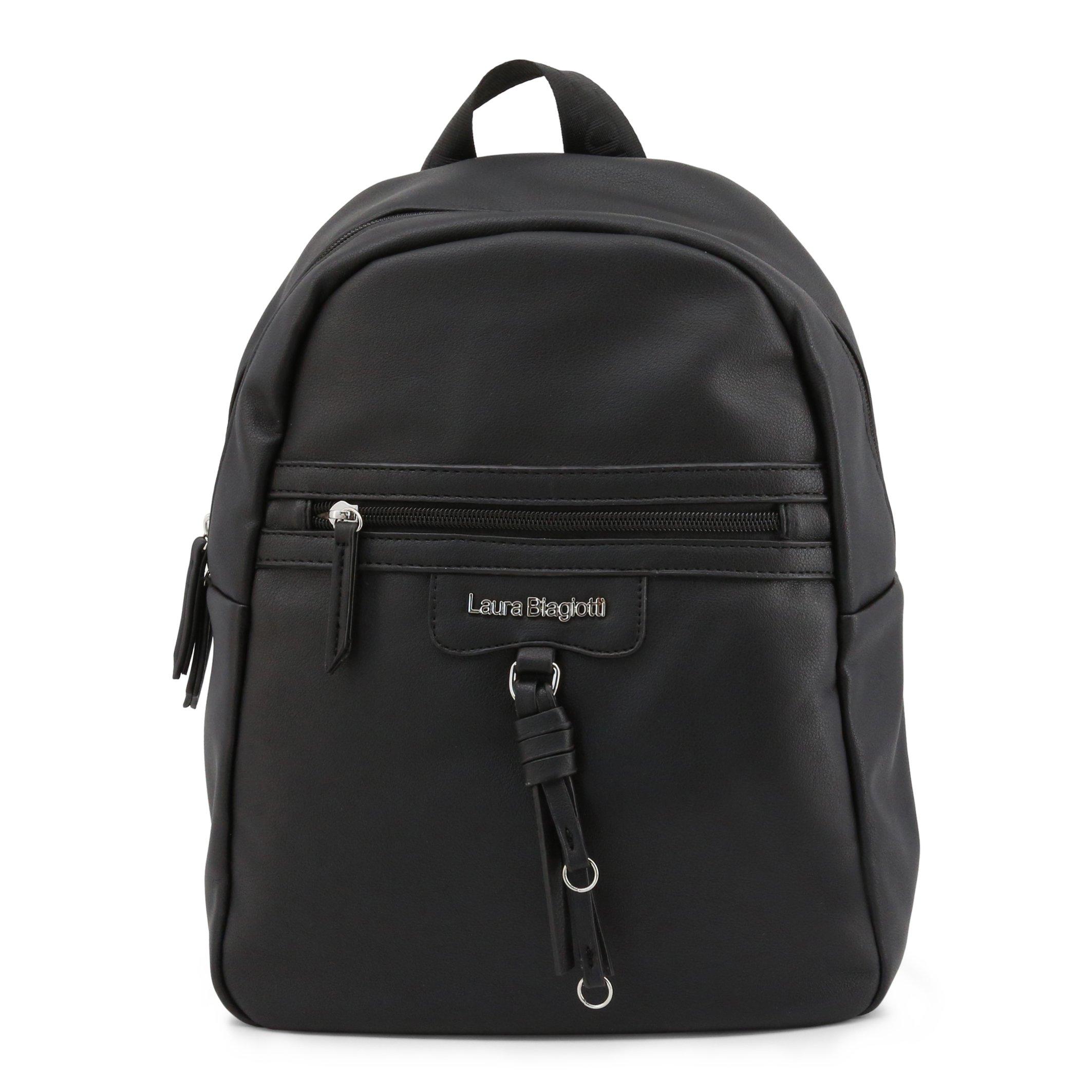 Laura Biagiotti Women's Backpack White Ramsey_103-4 - black NOSIZE