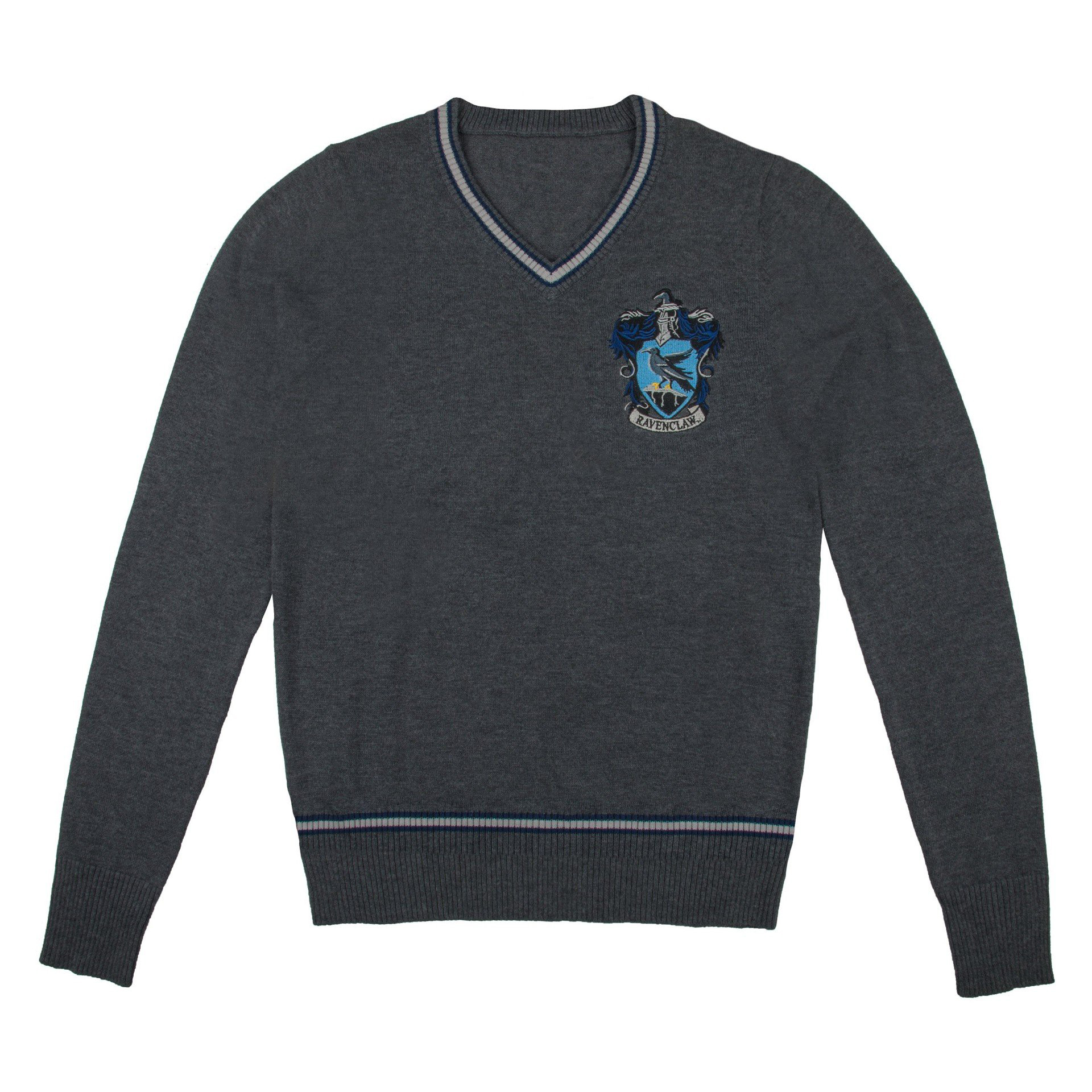 Harry Potter - Ravenclaw - Grey Knitted Sweater - Small