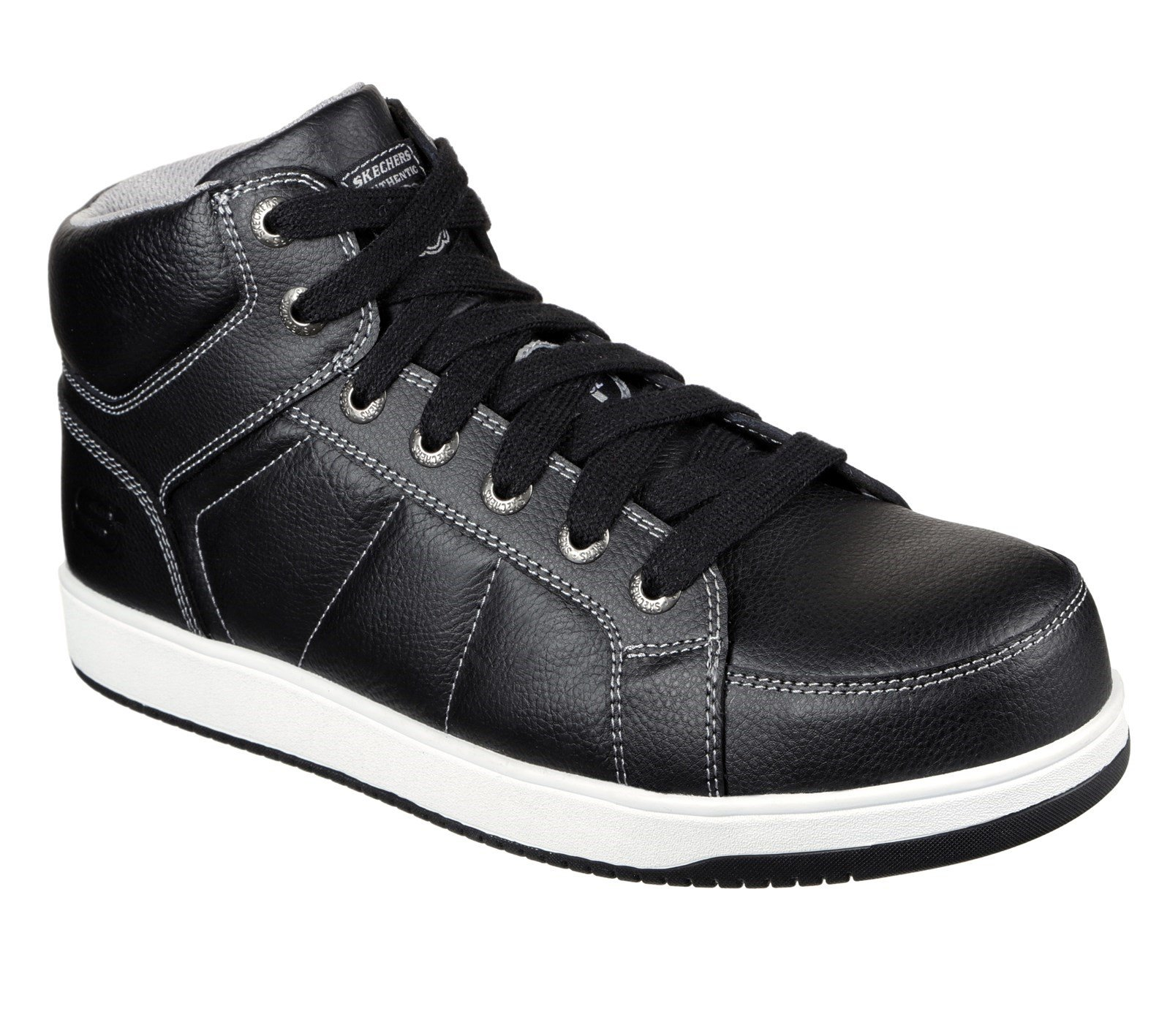 Skechers Unisex Watab Safety Boot Black 32314 - Black 6
