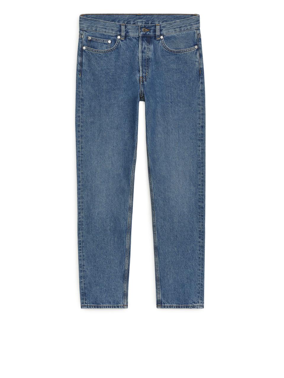 REGULAR Mid Wash Jeans - Blue
