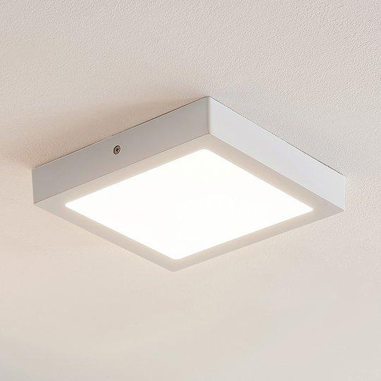 ELC Merina LED-kattovalo valk, 21,5x21,5 cm