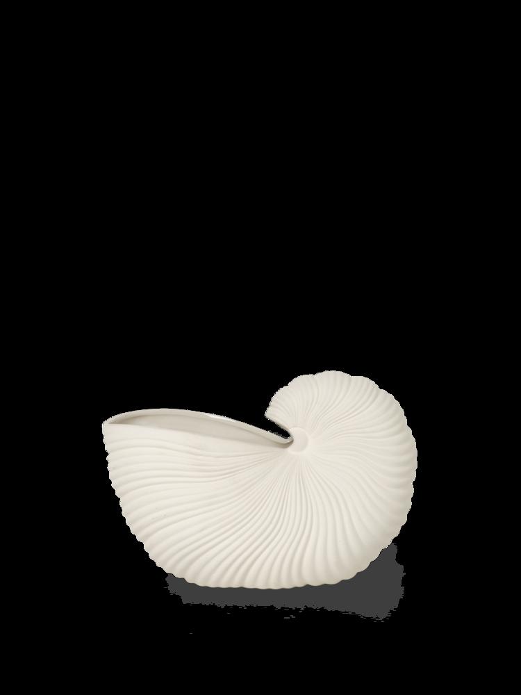 Ferm Living - Shell Vase - Off White (100232202)