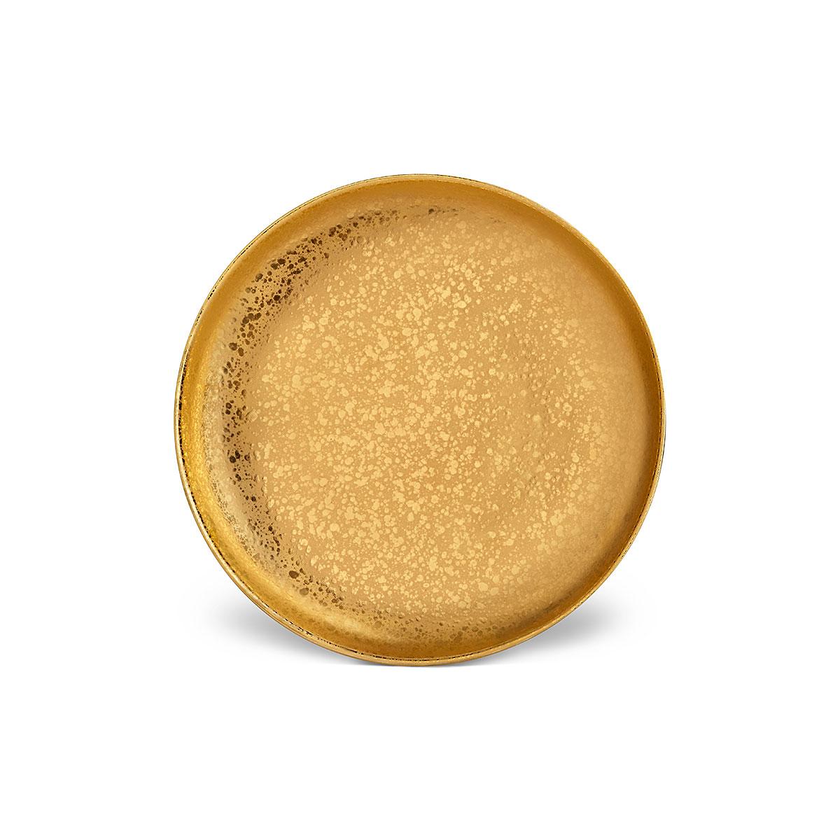 L'Objet I Alchimie Dinner Plate Gold
