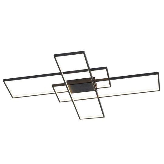 Lindby Tetson -LED-kattovalaisin, musta