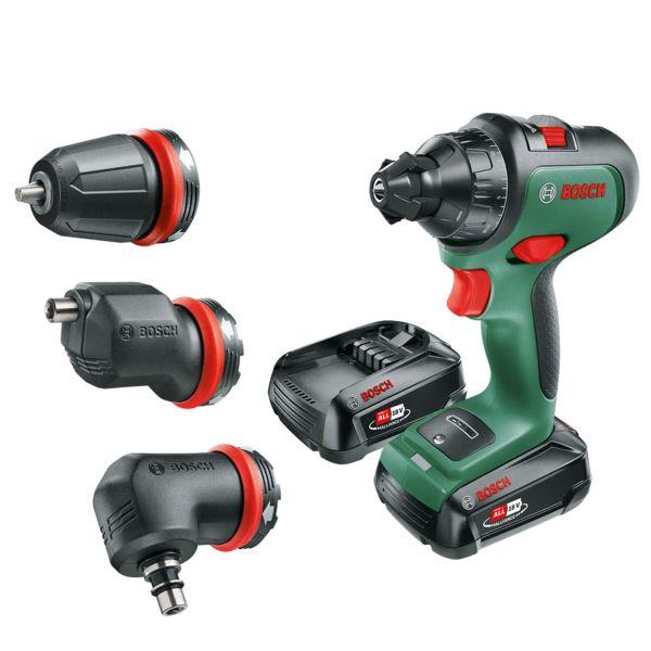 Bosch DIY Advanced Drill 18 Borskrutrekker med 2 st 2,5Ah batterier og ladere
