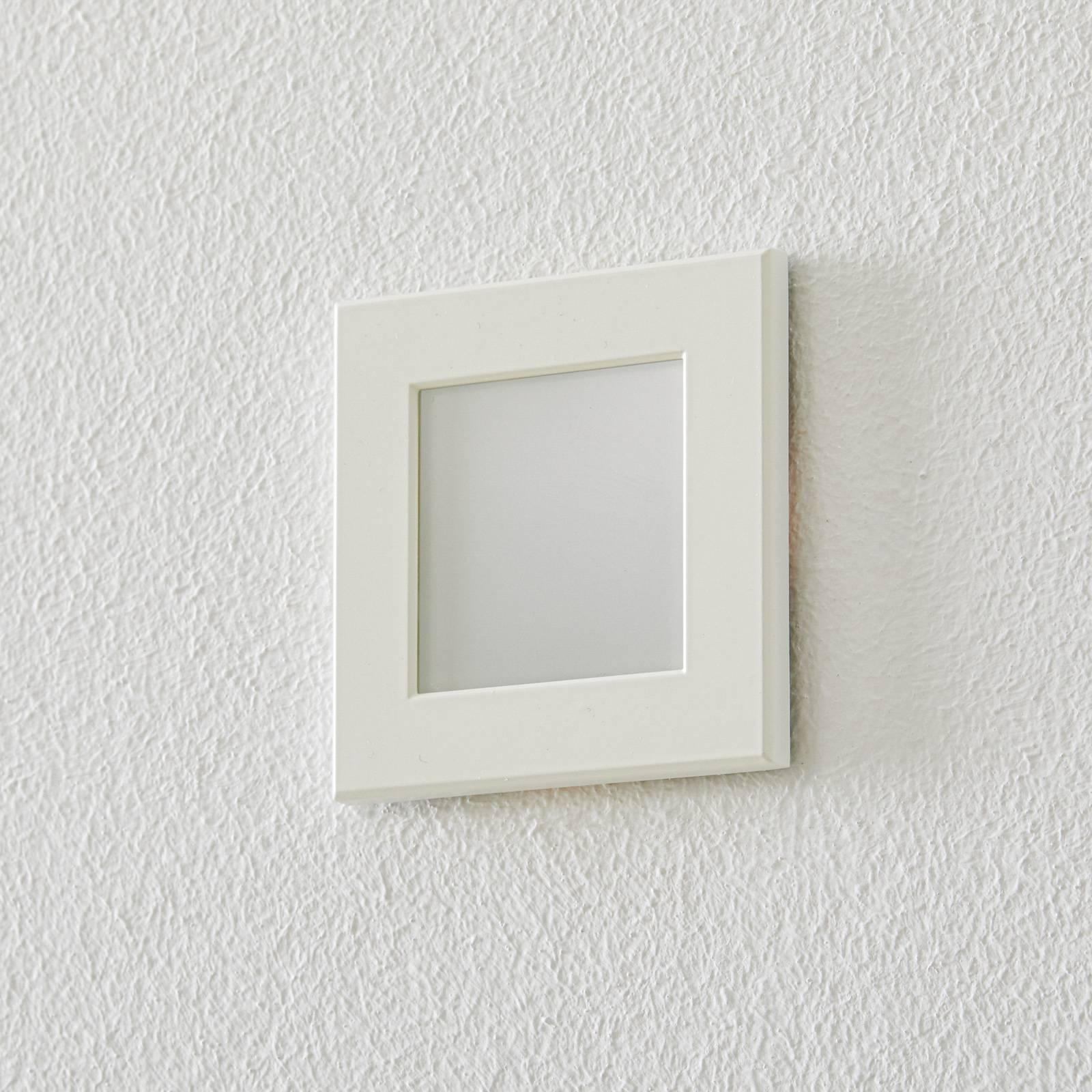 BEGA Accenta seinä kulmikas kehys valkoinen 315lm