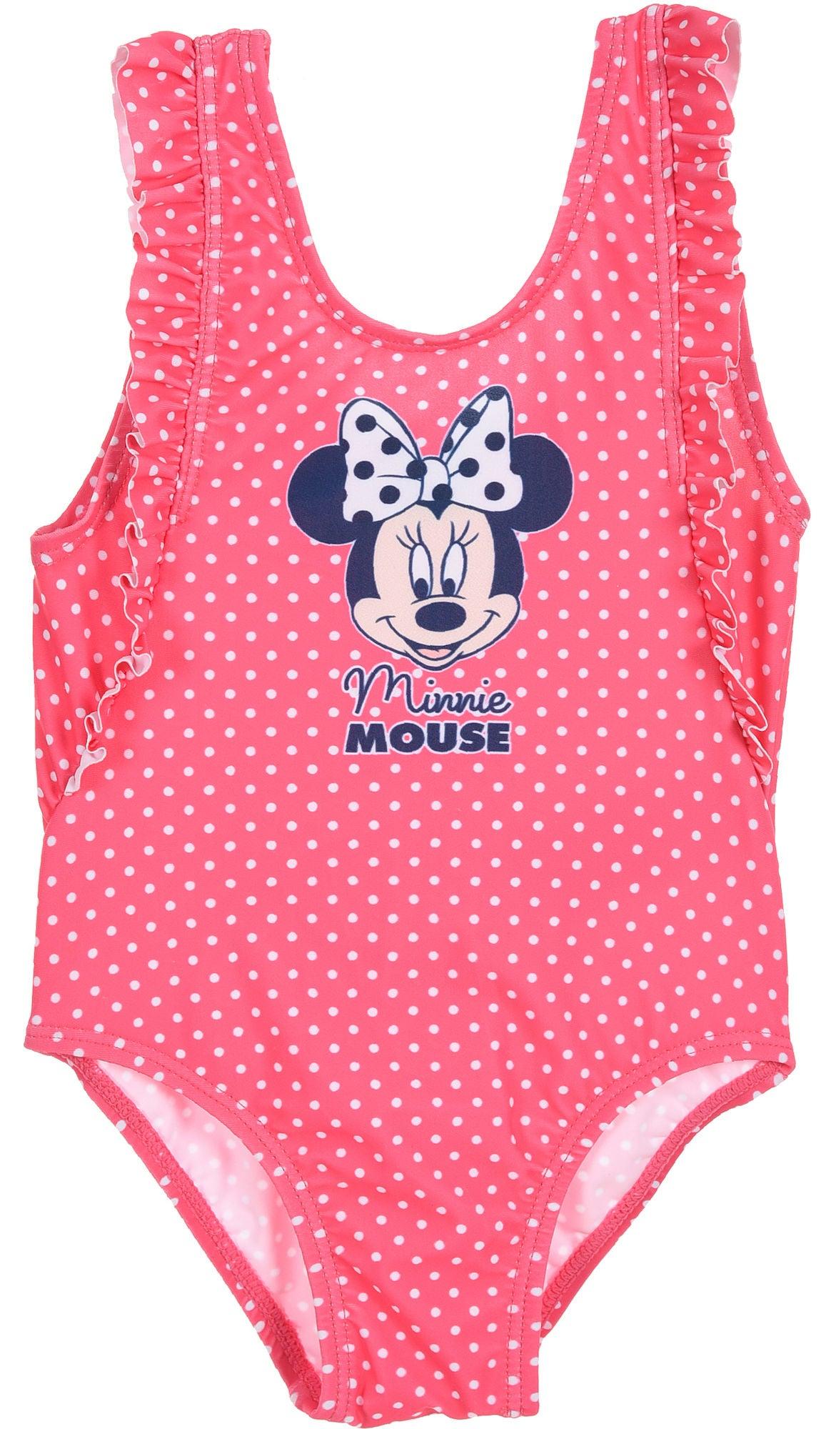 Disney Mimmi Pigg Baddräkt, Dark Pink, 12 Månader