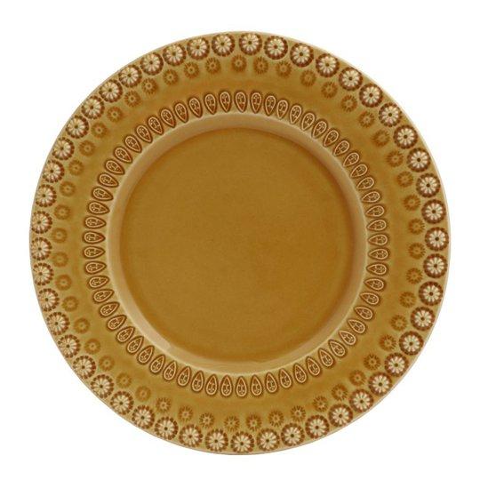 PotteryJo - Daisy Tallrik 22 cm Sienna