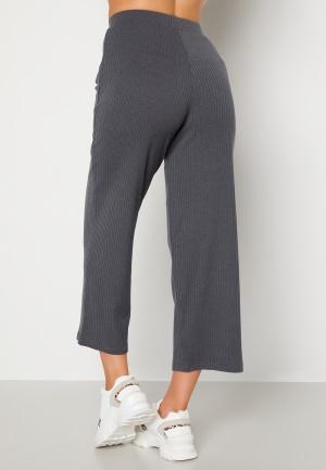Happy Holly Ruby cropped pants Dark grey melange 40/42